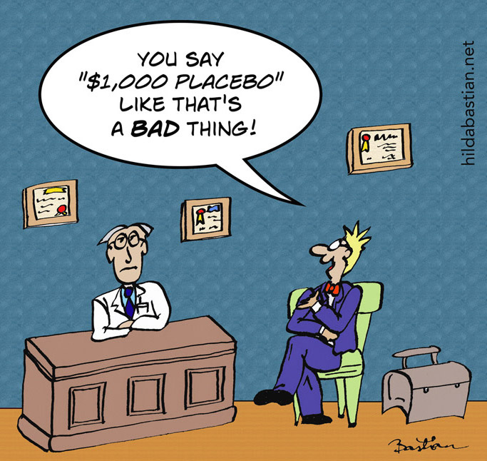 Thousand-dollar-placebo